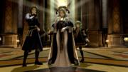 Rhea, Seteth y Flayn en el monasterio de Garreg Mach.png