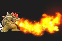 Vista previa de Aliento de fuego en la sección de Técnicas de Super Smash Bros. Ultimate
