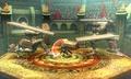 Marth y la Entrenadora de Wii Fit en el Coliseo de Regna Ferox - (SSB. for 3DS).jpg