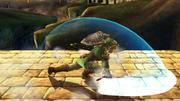 Ataque Smash hacia abajo Link SSBB (1).png