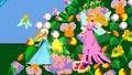 Estela junto a la reina de las Hadas en Pac-Land SSB4 (Wii U).jpg