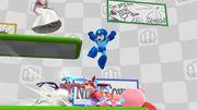Zelda, Kirby, Megaman y Greninja en el escenario Miiverse SSB4 (Wii U).jpg