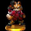 Trofeo de Fox (alt.) SSB4 (3DS).png