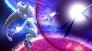 Comienzo del Smash Final de Mewtwo en Destino Final SSB4 (Wii U).jpg