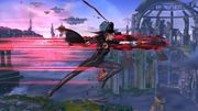 Ataque Aéreo Hacia Adelante (1) Bayonetta SSB Wii U.jpg