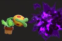 Vista previa del Aliento venenoso en la sección de Técnicas de Super Smash Bros. Ultimate