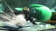 Ataque Smash lateral Cloud (2) SSB4 (Wii U).JPG