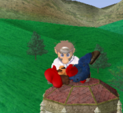 Lanzamiento hacia arriba de Dr. Mario (1) SSBM.png
