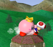 Copia Peach de Kirby (2) SSBM.png