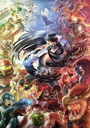 Ilustración promocional de Bayonetta SSB4.jpg
