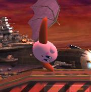 Ataque fuerte hacia arriba Kirby SSBB.png