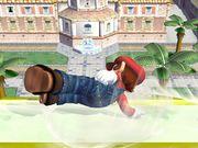 Ataque de recuperación de cara hacia arriba (1) Mario SSBB.jpg