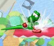 Ataque Smash hacia abajo de Yoshi (2) SSBM.png