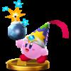 Trofeo de Kirby Bomba SSB4 (Wii U).png