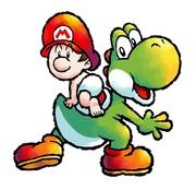 Baby Mario y Yoshi SMW2.jpg