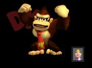 Pose de victoria Donkey Kong B SSBM.png
