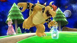 Hada embotellada en Super Smash Bros. para Wii U