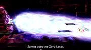 Samus usando Laser Zero BETA SSB4 (Wii U).png