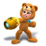 Artwork del Tirador Mii con el gorro y traje de oso.jpg