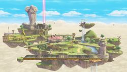 Vista general de Altárea en Super Smash Bros. para Wii U