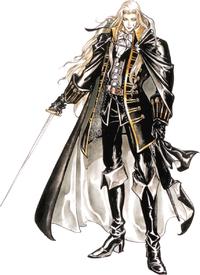 Art oficial de Alucard en Castlevania: Symphony of the Night