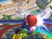 Ataque Smash hacia arriba (1) Mario SSBB.jpg