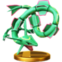 Trofeo de Rayquaza SSB4 (Wii U).png