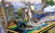 Lanzamiento hacia abajo Mewtwo (1) SSB4 (3DS).JPG