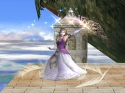 Ataque Smash superior Zelda SSBB.jpg