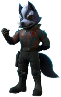 Art oficial de Wolf O'Donnell en Starlink: Battle for Atlas