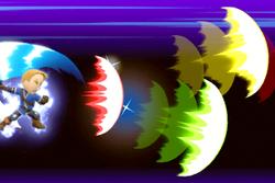 Vista previa de Filo extremo en la sección de Técnicas de Super Smash Bros. Ultimate