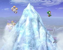 Iceberg en Super Smash Bros. Brawl