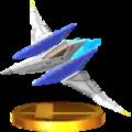 Trofeo de Arwing SSB4 (3DS).png