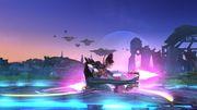Ataque Fuerte Hacia Abajo Bayonetta SSB Wii U.jpg