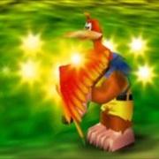 Kazooie usando Ala de las Maravillas en Banjo-Kazooie.jpg