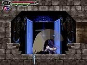 Soma Cruz usando la Guadaña de la Muerte Castlevania Dawn of Sorrow.png