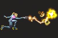Vista previa de Látigo de plasma en la sección de Técnicas de Super Smash Bros. Ultimate