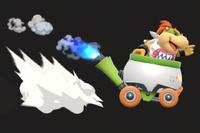 Vista previa de Atropello en la sección de Técnicas de Super Smash Bros. Ultimate