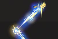 Vista previa de Ataque rápido en la sección de Técnicas de Super Smash Bros. Ultimate