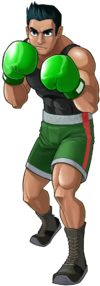 Art oficial de Little Mac en Punch-Out!!