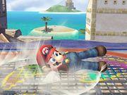 Ataque Smash hacia abajo (1) Mario SSBB.jpg