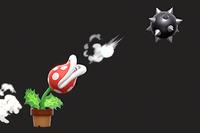 Vista previa de la Bola de pinchos en la sección de Técnicas de Super Smash Bros. Ultimate