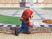 Ataque fuerte hacia arriba (1) Mario SSBB.jpg
