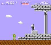 Entrada al Palacio Parapa Zelda II The Adventure of Link.png