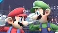 Mario y Luigi en el ring de boxeo - (SSB. for Wii U).jpg