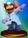Trofeo de Dr. Mario (Smash 2) SSBM.png