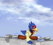 Ataque Smash hacia abajo de Falco SSBM.png