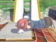 Ataque de recuperación de cara hacia arriba (2) Mario SSBB.jpg