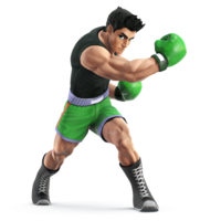 Art Oficial de Little Mac en Super Smash Bros. for Nintendo 3DS / Wii U