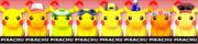 Paleta de colores de Pikachu SSB4 (3DS).png
